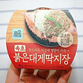 GS25 韓國蟹膏醬