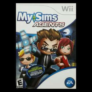 My SIMS Agents Nintendo Wii