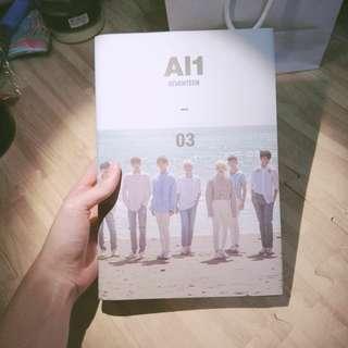 🚚 [空專]Seventeen×AI1 03(CD為俊Jun)