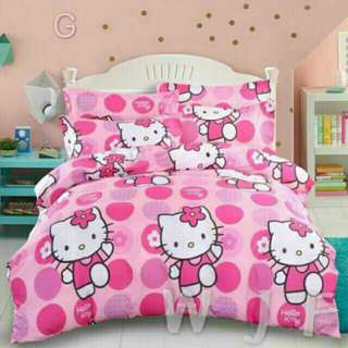 4in1 Single Cotton Bed Set