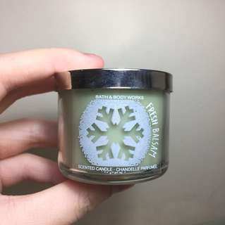 Fresh Balsam BBW Mini Candle