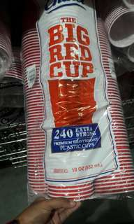 Kirkland chinet the big red cup