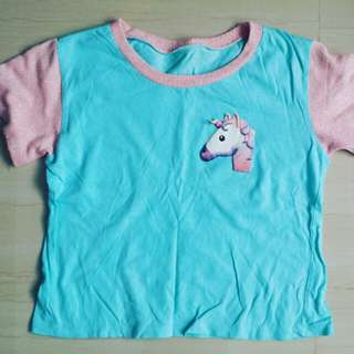 Pastel unicorn shirt