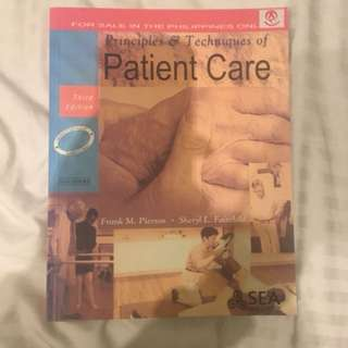 Principles and Techniques of Patient Care Frank M. Pierson and Sheryl L. Fairchild 3rd Edition