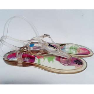 Brand new authentic Jimmy Choo jelly sandals
