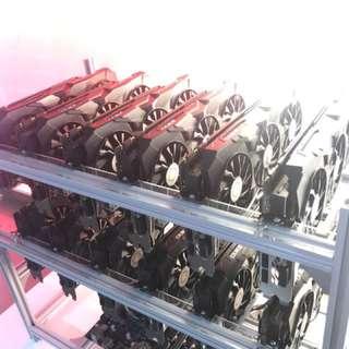 MORIAS LIGHT - 06 x GTX 1080TI Crypto Mining Rig