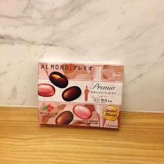 🚚 限定!!粉紅香檳Premio杏仁巧克力