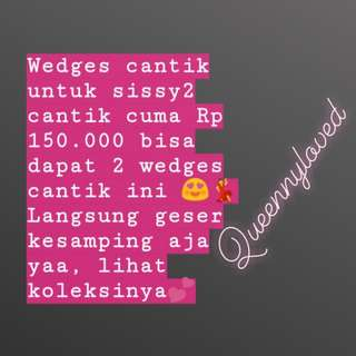 Promo wedges