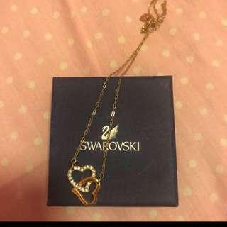 Price Drop: Authentic Swarovski Heart Necklace