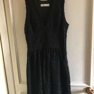 A&F black dress