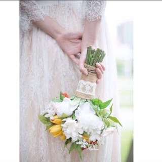 Country Style Silk Bouquet