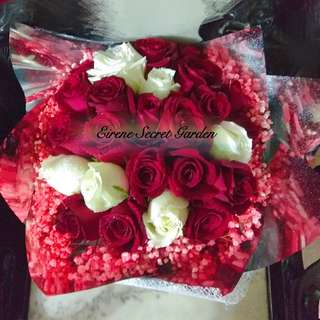 Flower bouquet/hand bouquet/anniversary bouquet/proposal/ birthday bouquet