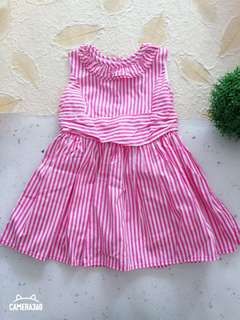 Dress Pink Stripe