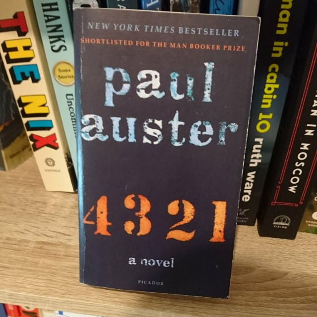 4 3 2 1 /paul auster 外文 原文 小說