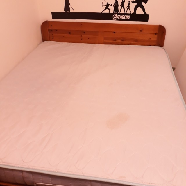 雙人床+床架