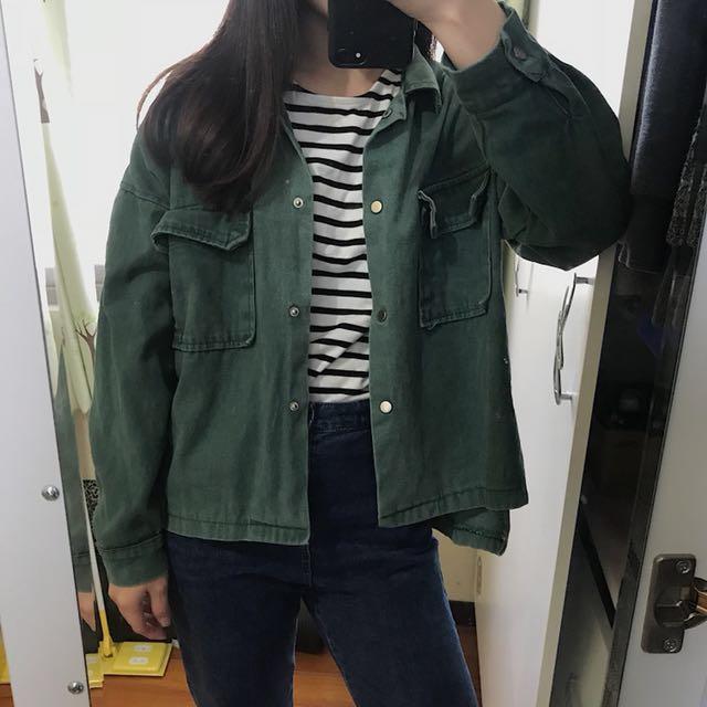 🖤藍綠色外套
