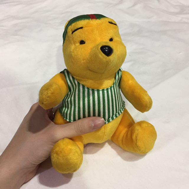 復古 1999年 麥當勞玩偶 小熊維尼 玩具