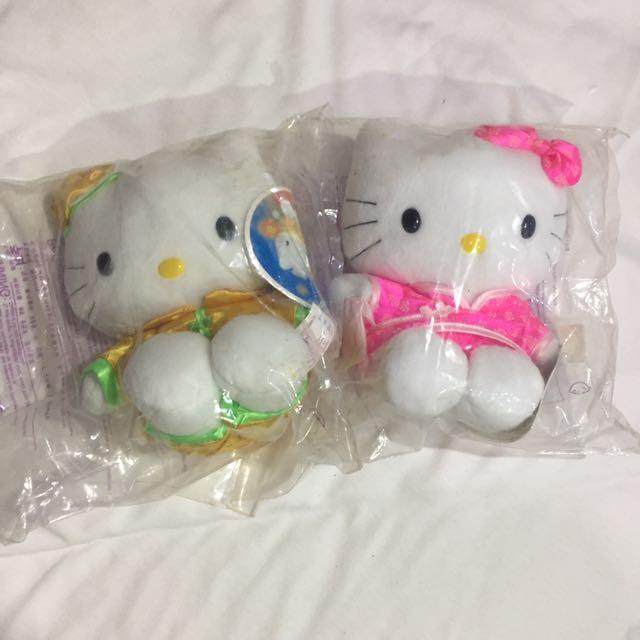 復古 1999年 麥當勞 hello kitty 唐裝+旗袍
