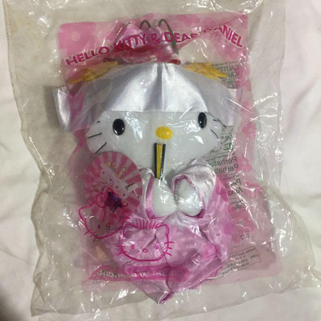 復古 1999年 麥當勞 hello kitty 東京之戀 玩偶