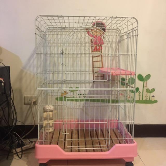 二手 貓籠 雙門
