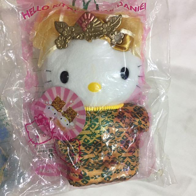 復古 麥當勞 hello kitty 1999年 檳城之戀 玩偶