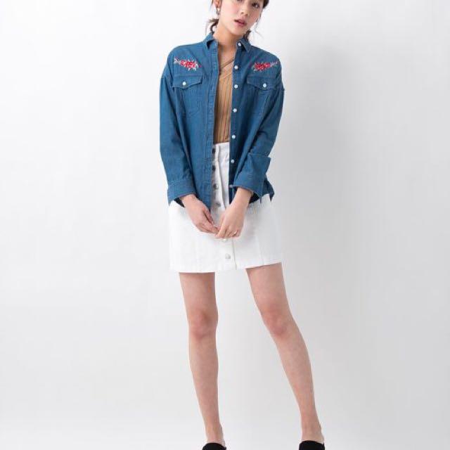 全新✨ 日本品牌 INGNI 高腰吊帶裙