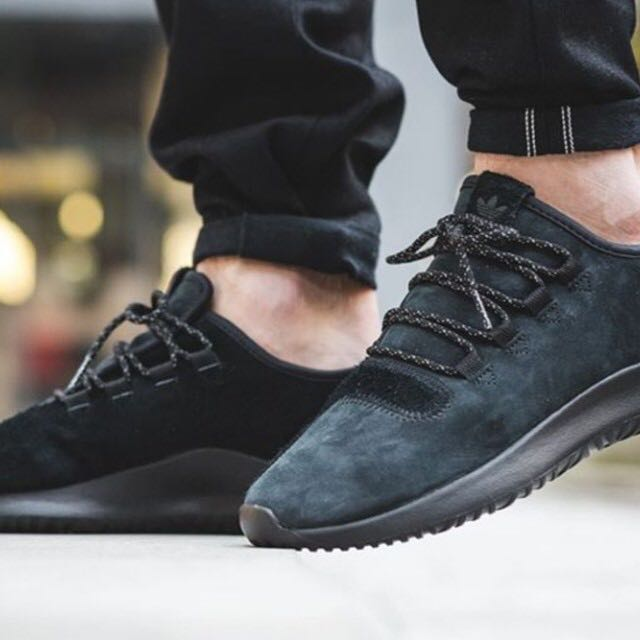 promo code f1e10 a3ffa Adidas tubular shadow triple black suede, Men's Fashion ...