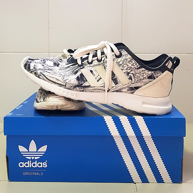 new styles 0e09a 9a951 Adidas ZX Flux Smooth shoes sneakers women's US 7
