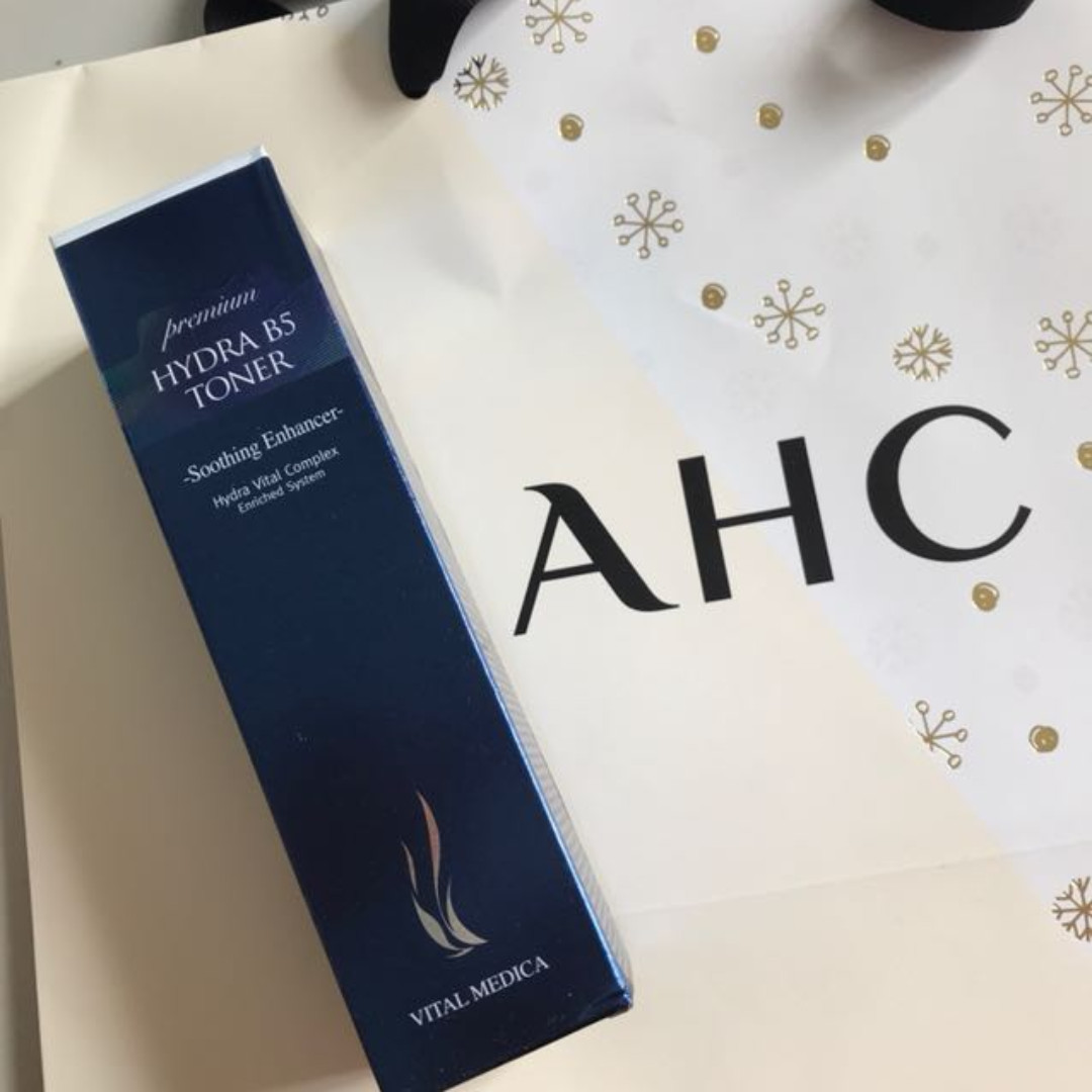 AHC premium hydra B5 toner soothing enhancer