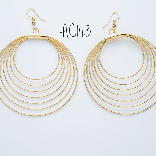 Anting double ring