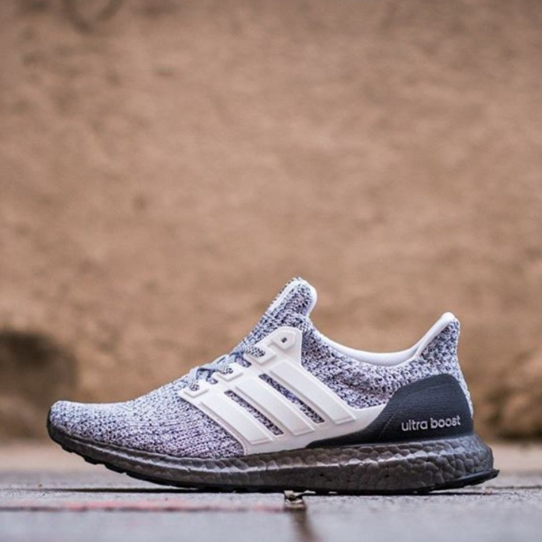 a1bb04727 Authentic Adidas Ultraboost 4.0 Cookies   Cream White Grey