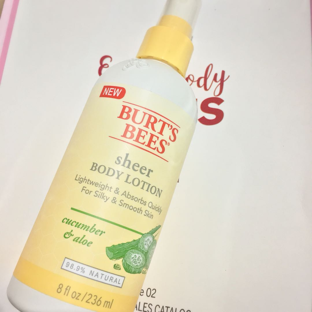 [AUTHENTIC] Burt's Bees Sheer Body Lotion