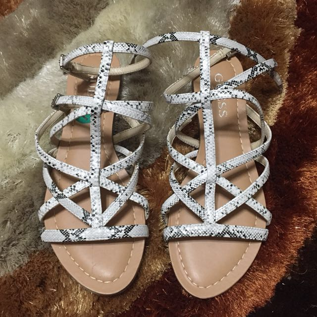Authentic Guess strappy sandals