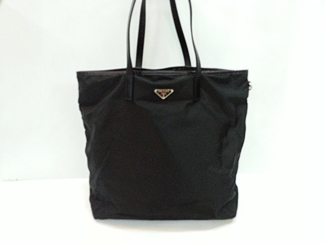 be93f04d910c uk authentic prada b4506h tessuto robot nero tote bag only for sale no  trade fixed price