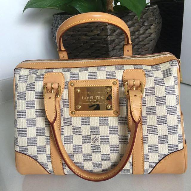 Authentic Pre-owned Louis Vuitton Damier Azur Canvas Berkeley Bag ... c8573bbbb8415