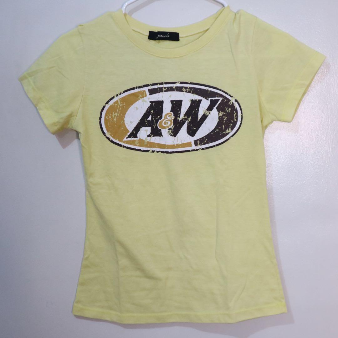 A&W shirt