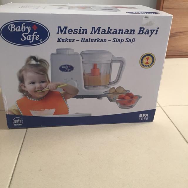 Babysafe Steam Blender