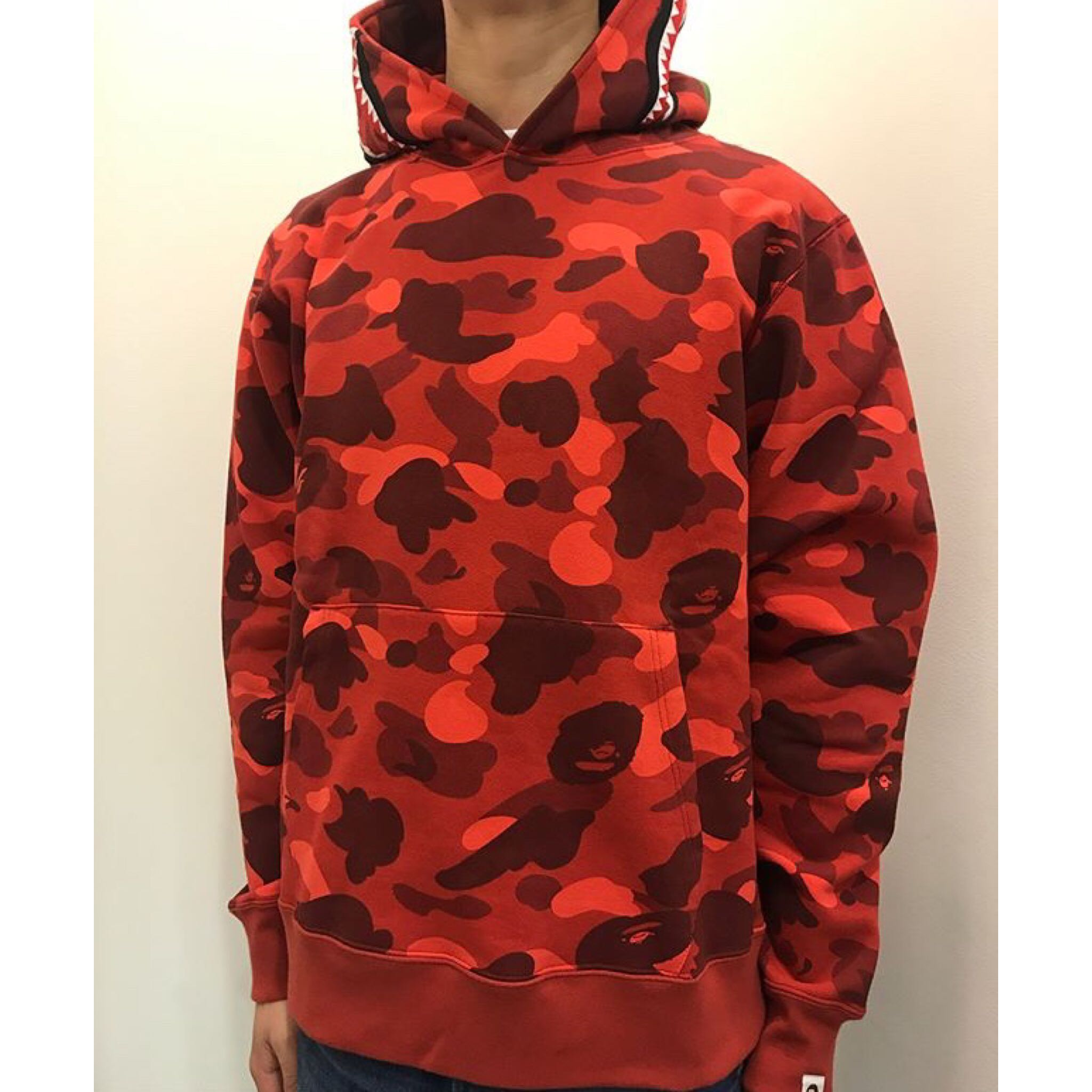 56d940736565 BAPE COLOR CAMO SHARK WIDE PULLOVER HOODIE