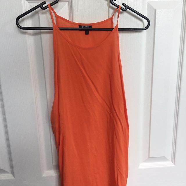 Bardot orange dressy singlet