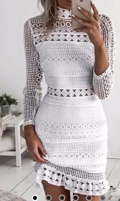 Best selling Angelique White Dress *BRAND NEW*