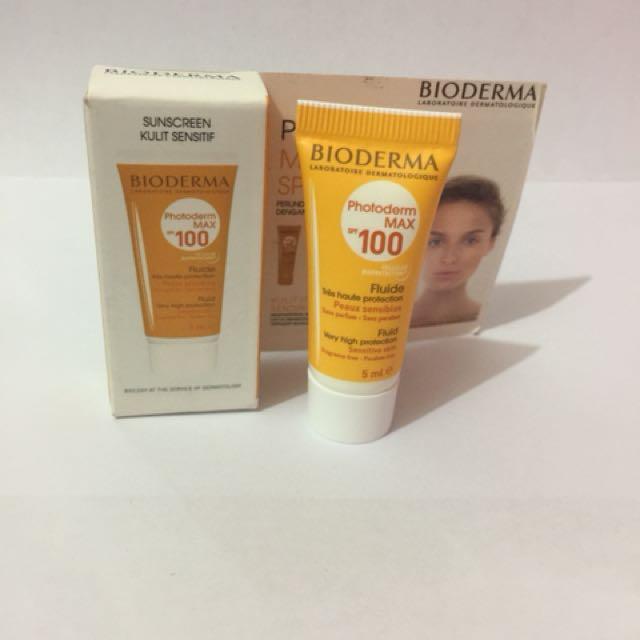 Bioderma sunscreen