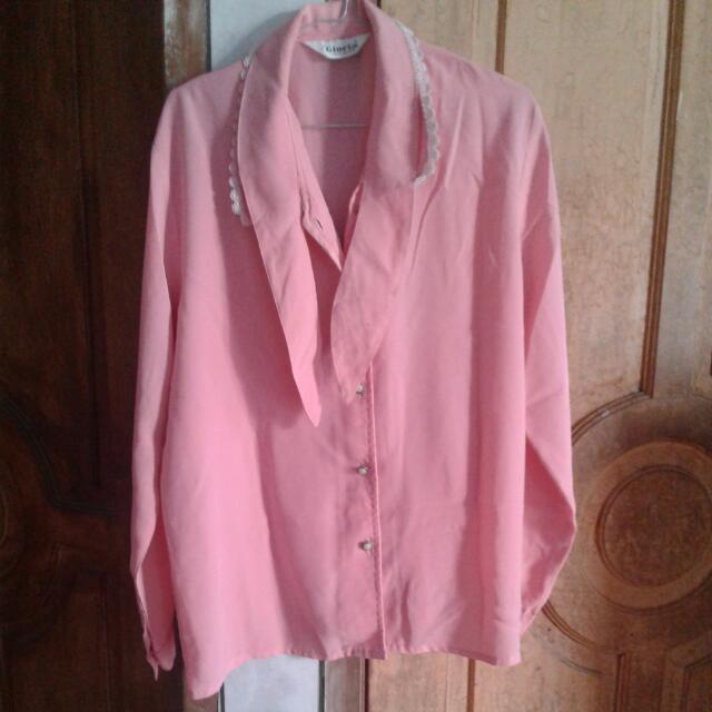 Blouse Pink(GLORIA)
