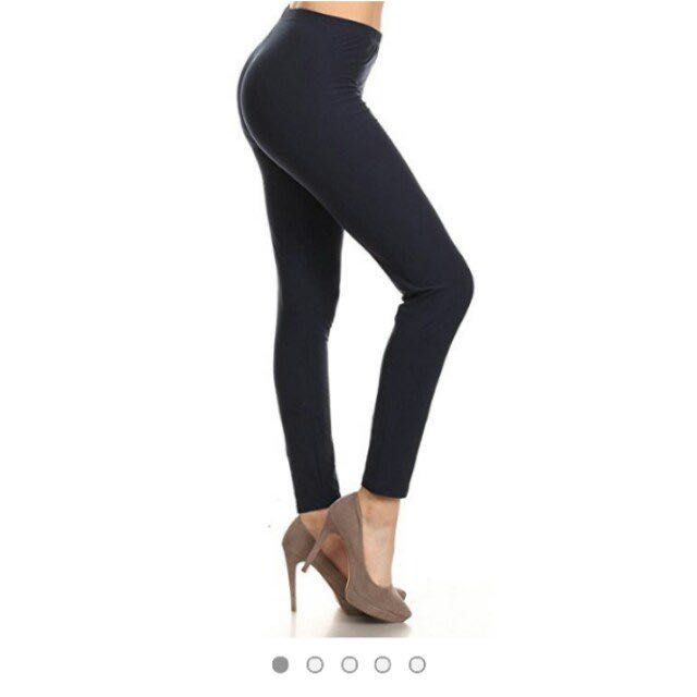 44ea5d56b90 BNWT Ultra Soft Leggings Depot Navy Leggings, Women's Fashion, Clothes,  Pants, Jeans & Shorts on Carousell