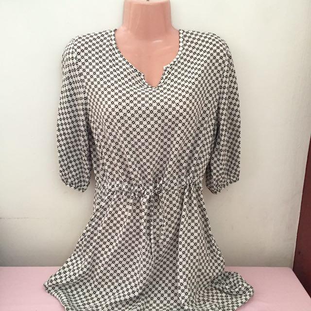 Boho Print Mini Dress