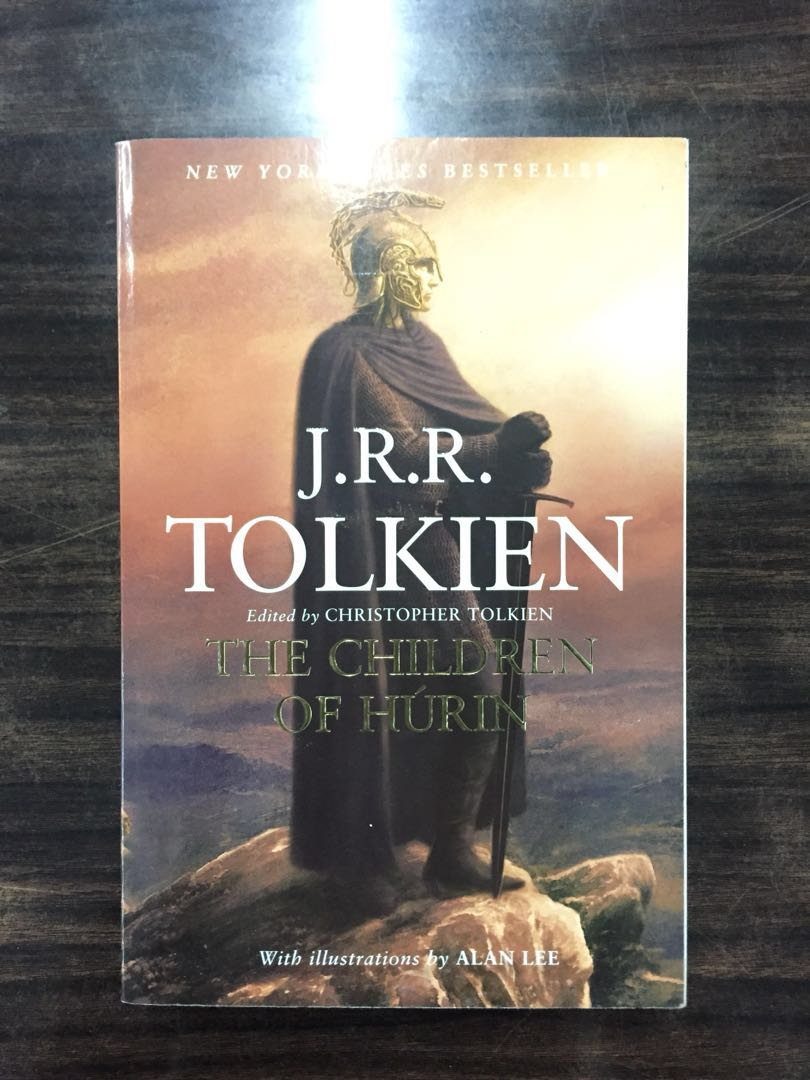 Book: The Children of Hudrin by JRR Tolkien