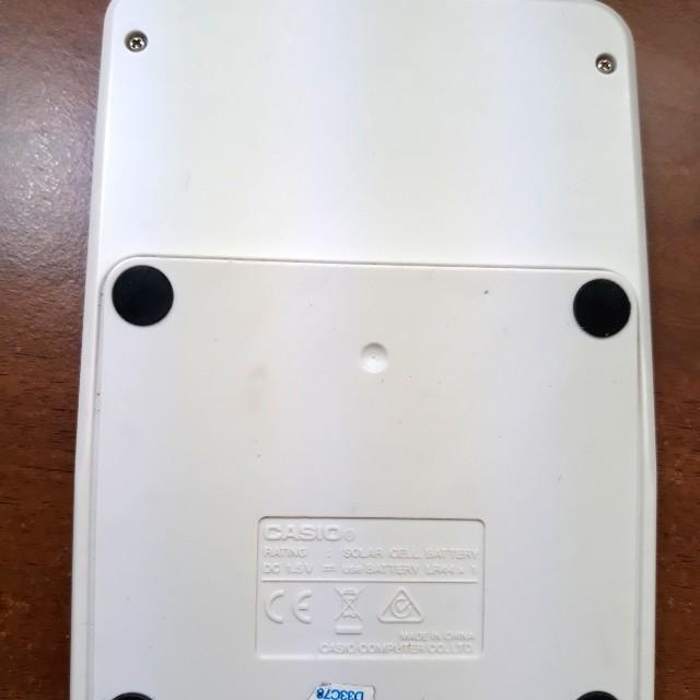 Casio MS-20NC 蘋果綠計算機