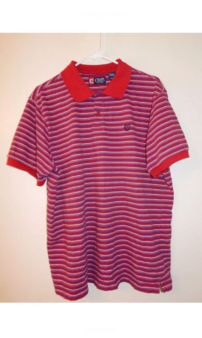 Chaps Stripped Polo shirt