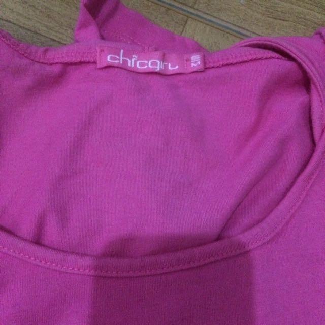 chicgirl shirt pink