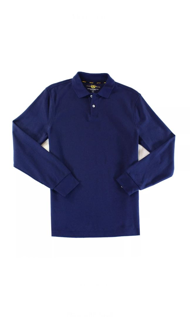 Club Room - New Men's Polo Knit Long Sleeve Sweater