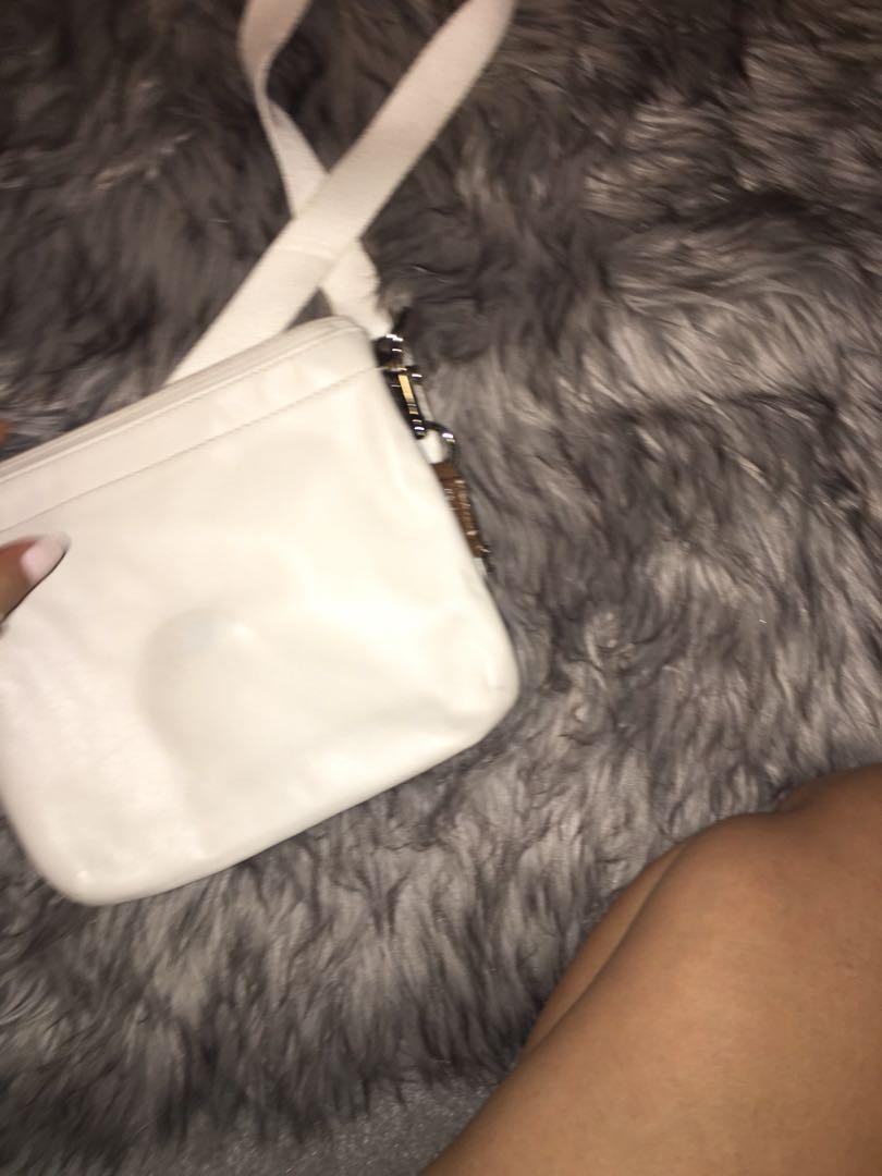 Coach cream satchel